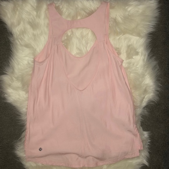 lululemon athletica Tops - Pretty pink lululemon tank